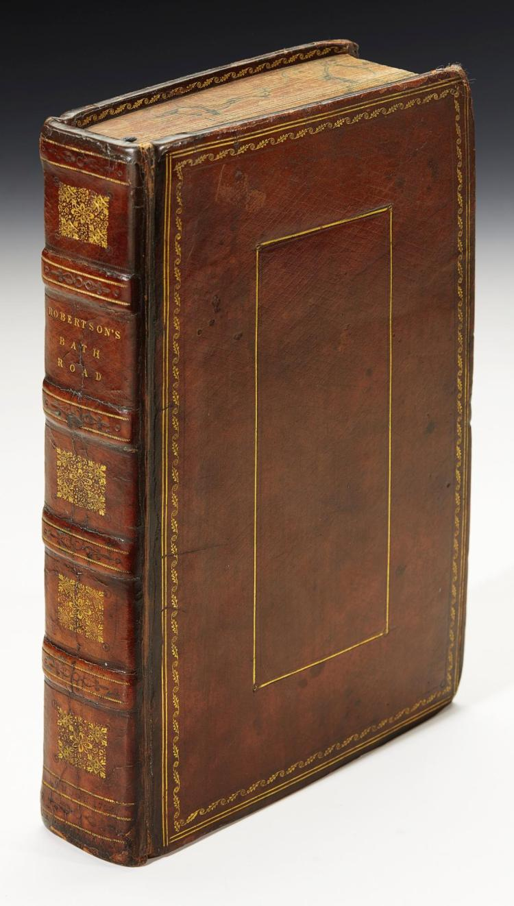 ROBERTSON. A TOPOGRAPHICAL SURVEY OF THE GREAT ROAD FROM LONDON TO BATH. 1792