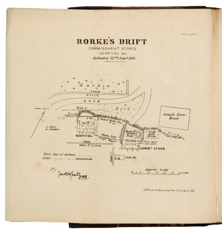 ROTHWELL. NARRATIVE OF THE FIELD OPERATIONS CONNECTED WITH THE ZULU WAR OF 1879. 1881