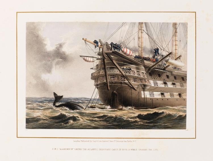 RUSSELL. THE ATLANTIC TELEGRAPH. [1865]