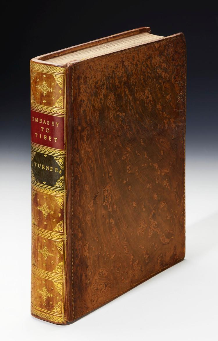 TURNER. AN ACCOUNT OF AN EMBASSY TO THE COURT OF TESHOO LAMA IN TIBET. 1800