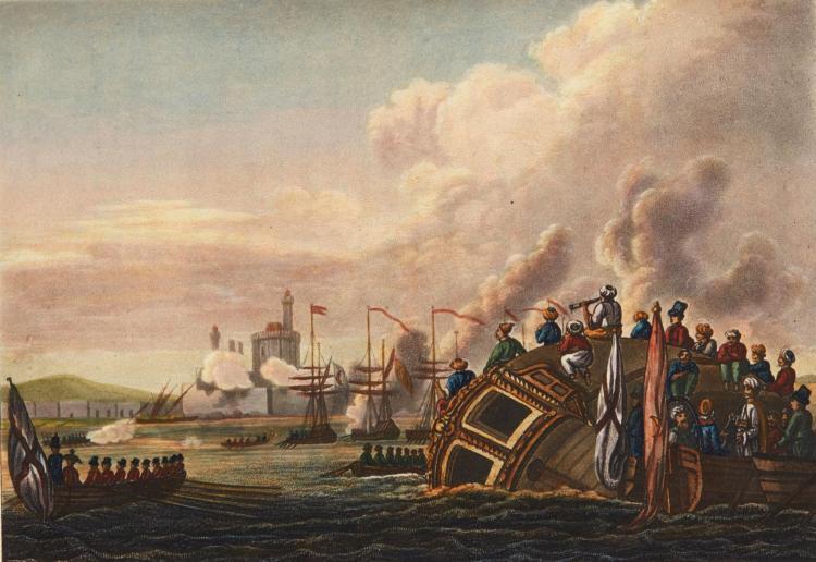 WILLYAMS. VOYAGE UP THE MEDITERRANEAN. 1802
