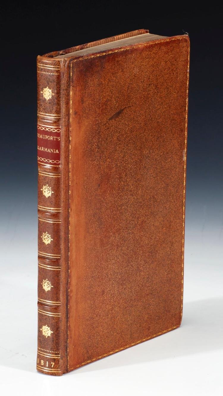 BEAUFORT. KARAMANIA, OR A BRIEF DESCRIPTION OF THE SOUTH COAST OF ASIA-MINOR. 1817