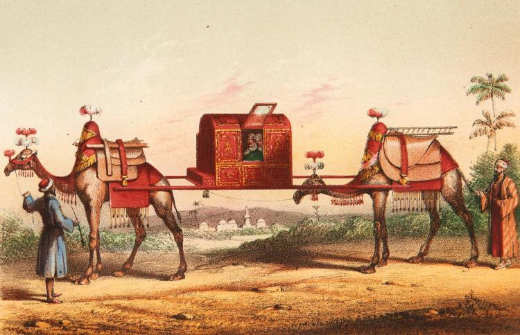 BURTON. PERSONAL NARRATIVE OF A PILGRIMAGE TO EL-MEDINAH AND MECCAH, 1855, (3 VOL.)