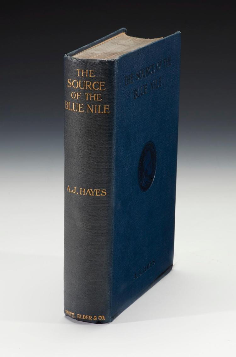 HAYES. SOURCE OF THE BLUE NILE. 1905