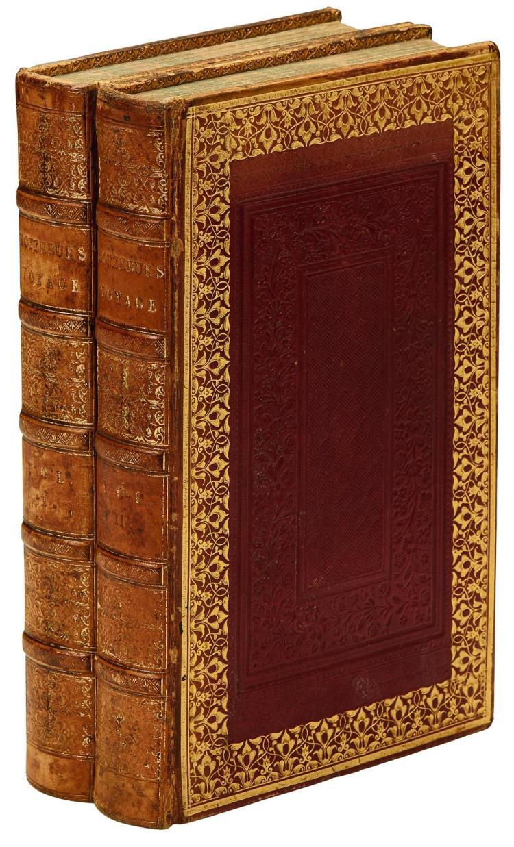 KOTZEBUE. NEW VOYAGE ROUND THE WORLD. 1830, 2 VOL.