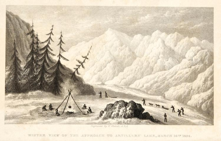 KING. NARRATIVE OF A JOURNEY TO THE SHORES OF THE ARCTIC OCEAN. 1836