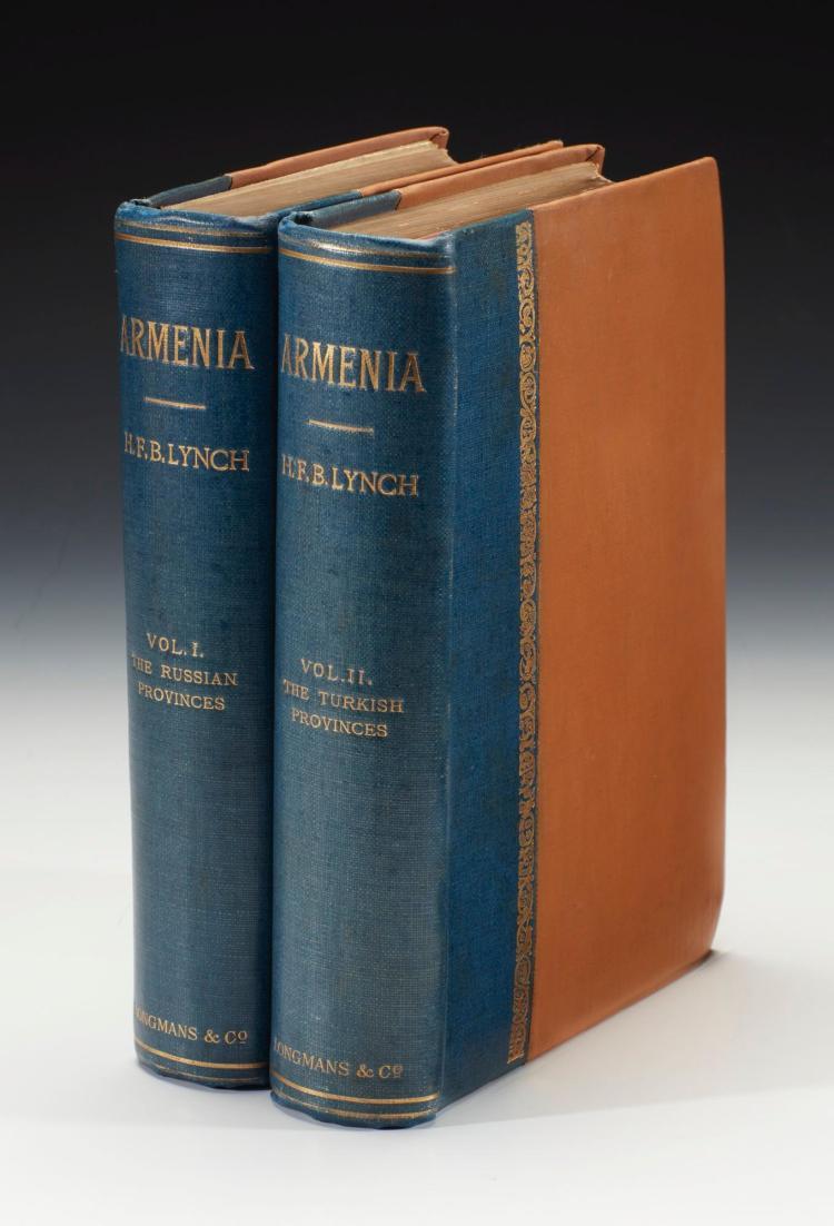 LYNCH. ARMENIA. TRAVELS AND STUDIES. 1901