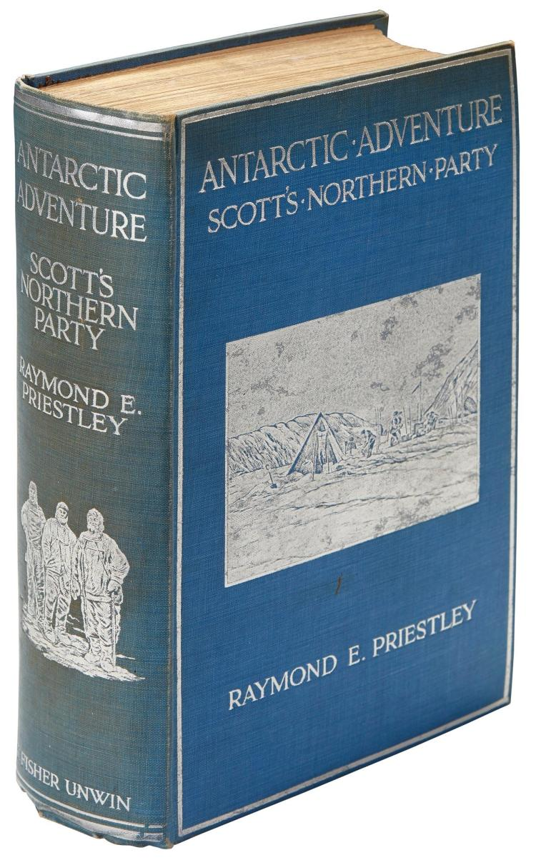 PRIESTLEY. ANTARCTIC ADVENTURE. SCOTT'S NORTHERN PARTY. [1914]