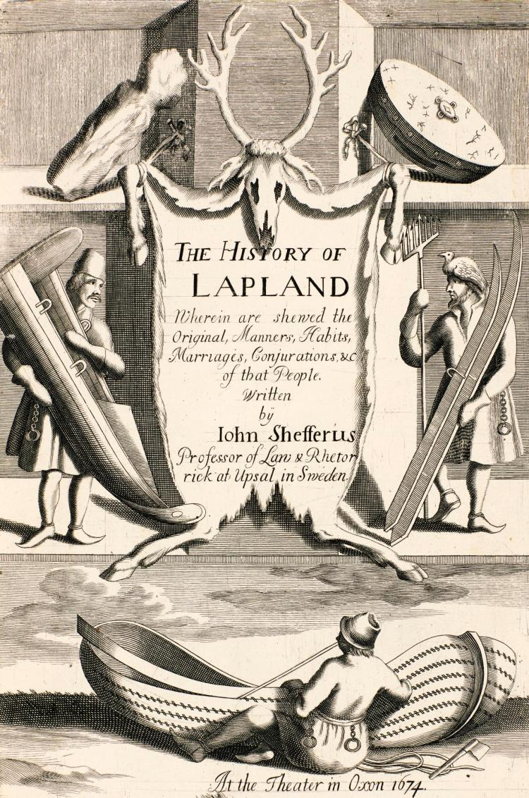 SCHEFFER. THE HISTORY OF LAPLAND. 1674