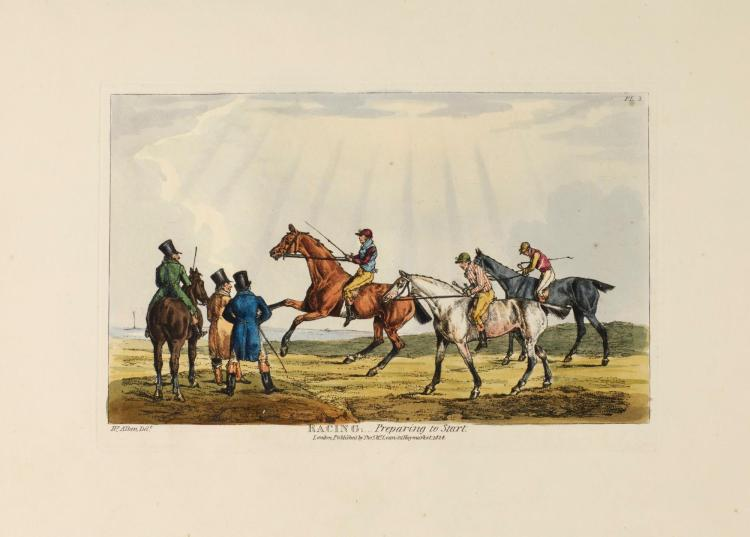 ALKEN, THE NATIONAL SPORTS OF GREAT BRITAIN, 1825