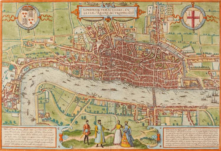 LONDON. BRAUN & HOGENBERG, [AFTER 1574]
