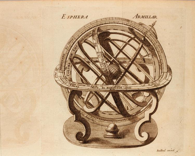 GIUSTINIANI, EL NUEVO ATLAS UNIVERSAL. 1755, 6 VOL., 8VO, ENGRAVED MAPS AND PLATES, CONTEMPORARY CALF