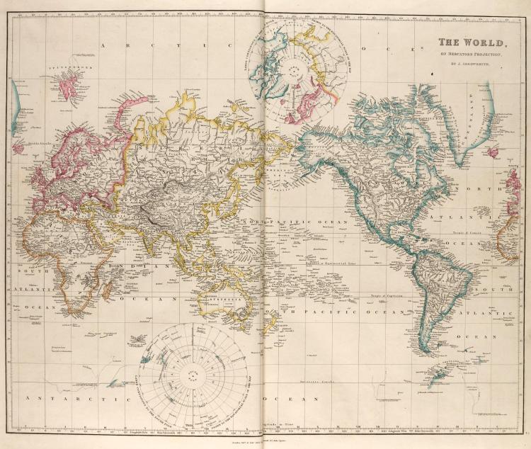 ARROWSMITH, THE LONDON ATLAS, LONDON, [1842-1858]
