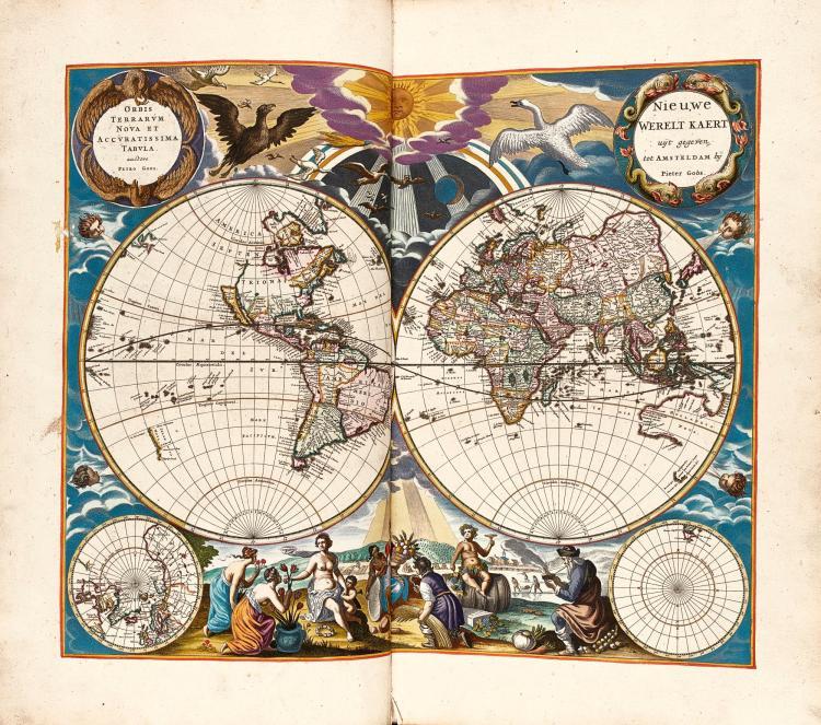 GOOS. DE ZEE-ATLAS OFTE WATER-WEERELD. 1668 [1669]