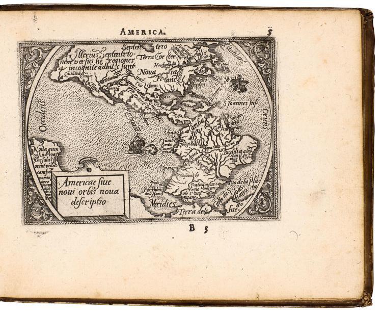 ORTELIUS. EPITOME THEATRI ORTELIANI. 1589
