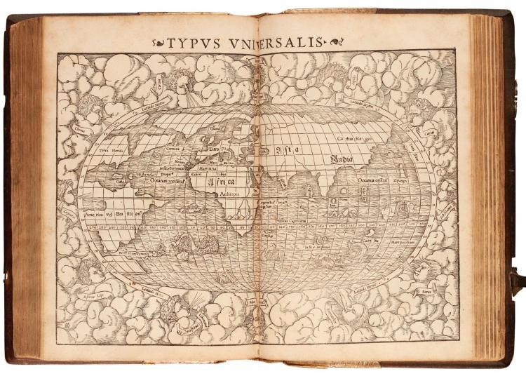 PTOLEMAEUS. GEOGRAPHIAE CLAUDII PTOLEMAEI ALEXANDRINI. 1552