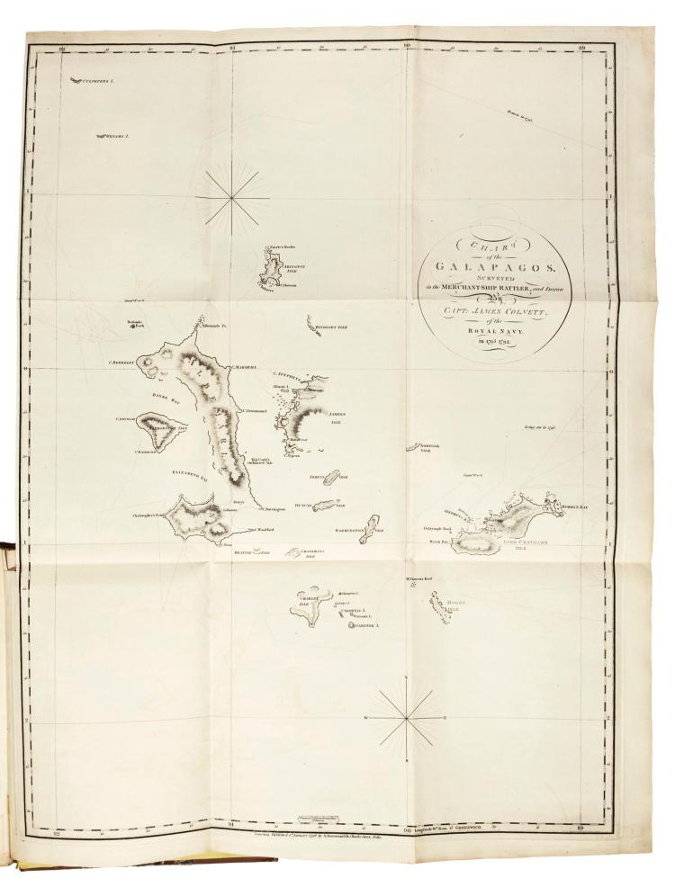 COLNETT. A VOYAGE TO SOUTH ATLANTIC AND ROUND CAPE HORN INTO THE PACIFIC OCEAN, 1798