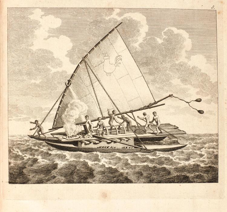DALRYMPLE. AN HISTORICAL COLLECTION OF THE SEVERAL VOYAGES AND DISCOVERIES IN THE SOUTH PACIFIC OCEAN. [1770]-1771