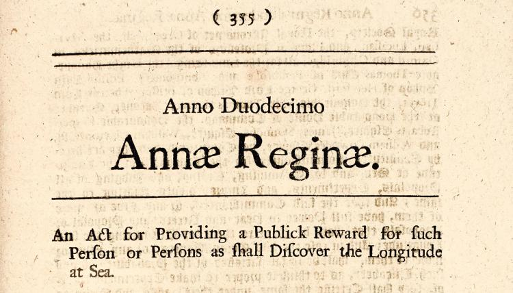 LONGTITUDE. A TABLE OF THE STATUTES PUBLICK AND PRIVATE. ANNO REGNI ANNÆ REGINÆ. 1714