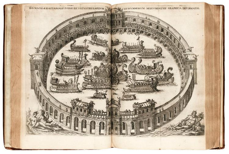 MORISOT. ORBIS MARITIMI SIVE RERUM IN MARI ET LITTORIBUS GESTARUM GENERALIS HISTORIA. 1643