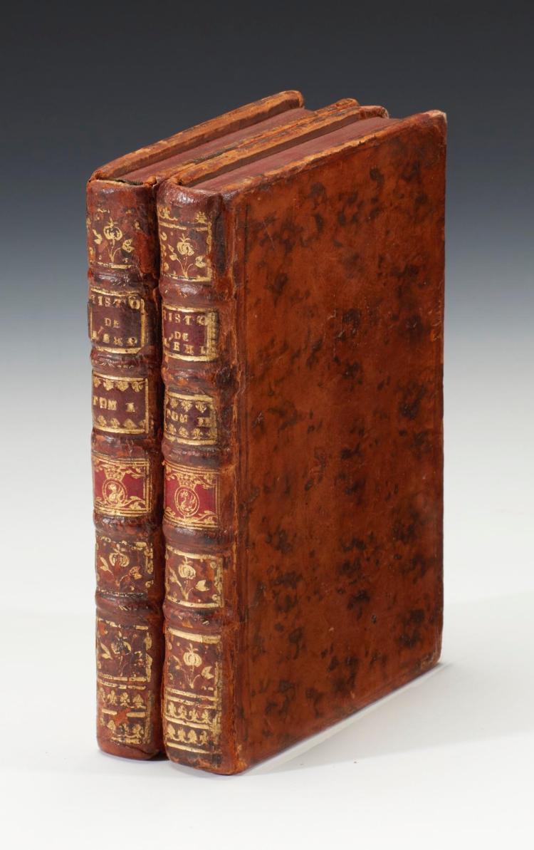 ROGGEVEEN AND BEHRENS. HISTOIRE DE L'EXPÉDITION DE TROIS VAISSEAUX. 1739, (2 VOL.)