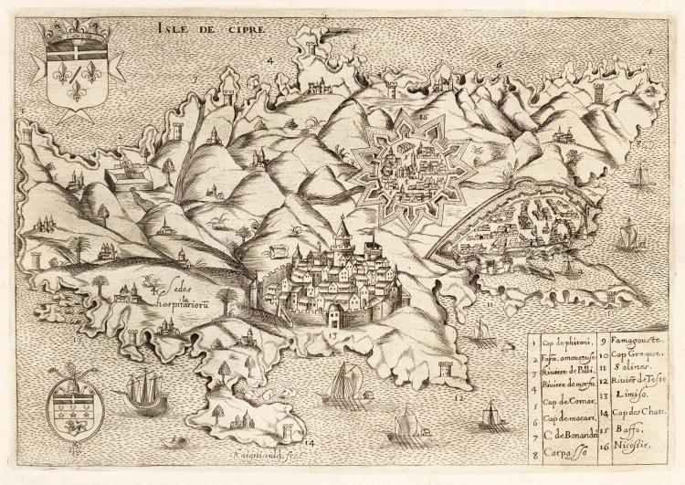 BOSIO. HISTOIRE DES CHEVALIERS DE L'ORDRE DE S. JEAN DE HIERUSALEM, 1643