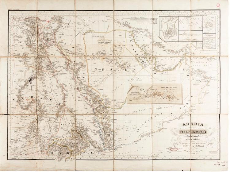 EHRENBERG AND RÜPPELL. ARABIA UND DAS NIL-LAND. 1835