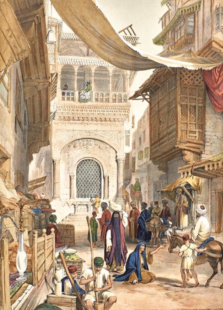 HAY. ILLUSTRATIONS IN CAIRO. 1840