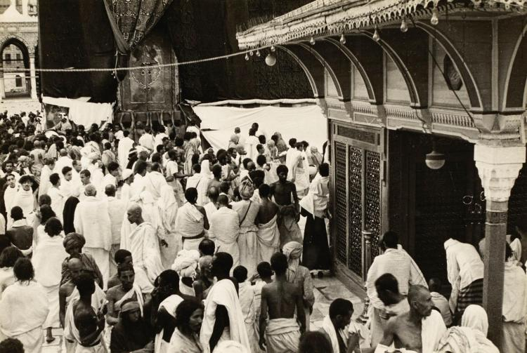 MECCA AND THE HAJJ. A COLLECTION OF 33 PHOTOGRAPHS.[C.1940S]
