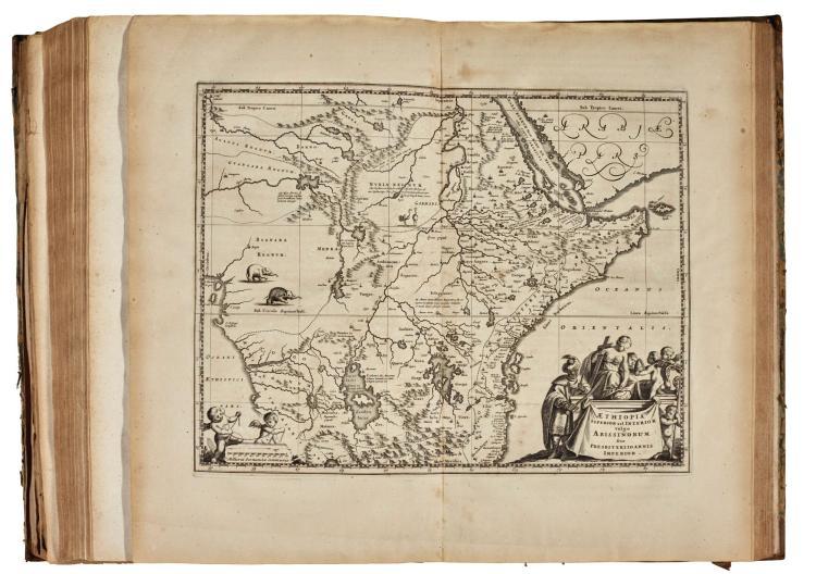 OGILBY. AFRICA, 1670