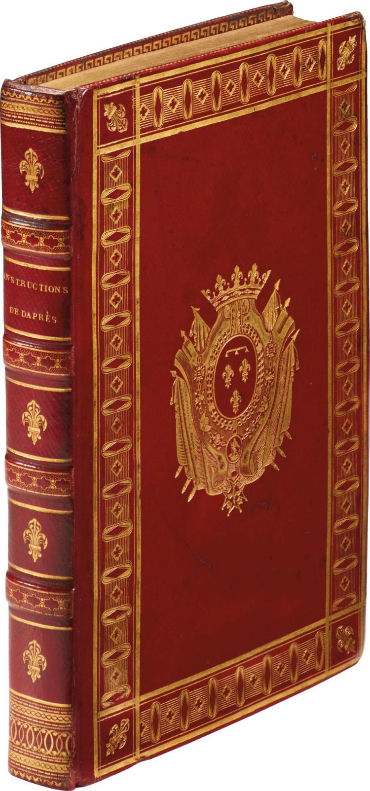 APRES DE MANNEVILLETTE. INSTRUCTIONS DE DAPRÈS SUR LA NAVIGATION DES INDES ORIENTALES. 1819