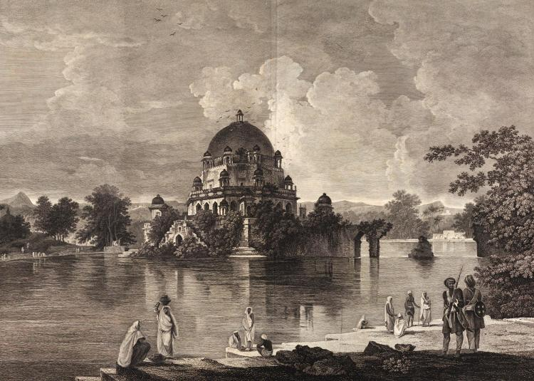 HODGES. A DISSERTATION ON THE PROTOTYPES OF ARCHITECTURE, HINDOO, MOORISH, AND GOTHIC. [1787]