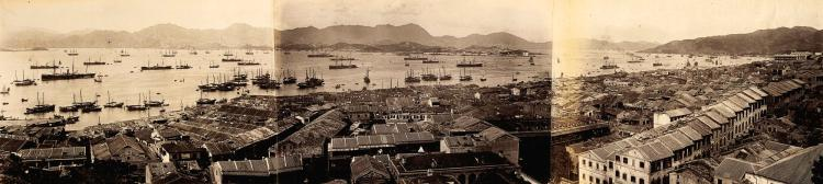 HONG KONG. ALBUM OF PHOTOGRAPHS. C.1890S