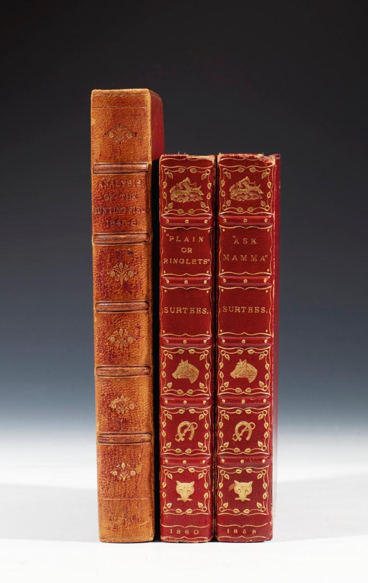 SURTEES. THE ANALYSIS OF THE HUNTING FIELD,1846;