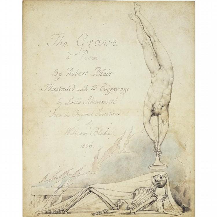 WILLIAM BLAKE LONDON 1757 - 1827