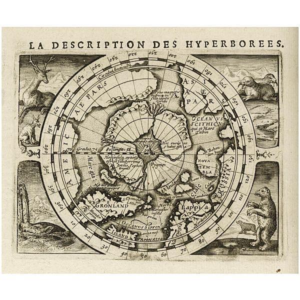 Bertius, Petrus. , La géographie Racourcie. Amsterdam: J. Hondius Jr, 1618