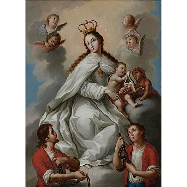 José Campeche (1751-1809) , Virgen de la Merced