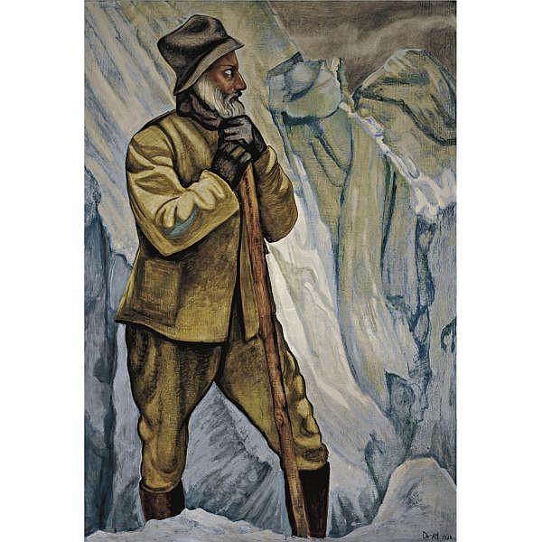 Dr. Atl (Gerardo Murillo) (1875-1964) , Autorretrato