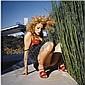 - Bettina Rheims , b. 1952 Elizabeth Berkley Stuck in Bamboo Bushes, Los Angeles colour photograph   , Bettina Rheims, Click for value