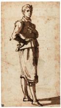 JACOPO CHIMENTI, CALLED JACOPO DA EMPOLI | Study of a boy