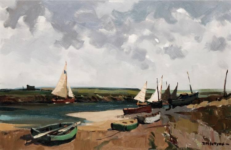 DONALD MCINTYRE, B.1923