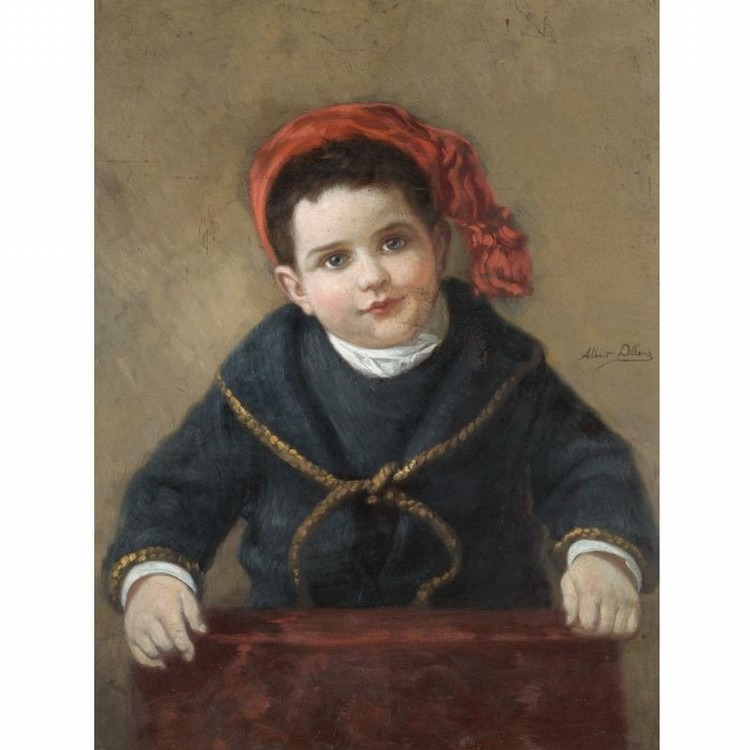 ALBERT DILLENS BORN 1844