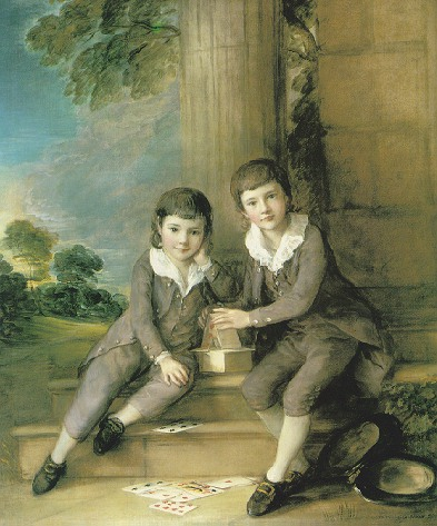 THOMAS GAINSBOROUGH, R.A. (1727-1788) PORTRAIT OF MASTER JOHN TRUMAN-VILLEBOIS AND HIS BROTHER HENRY