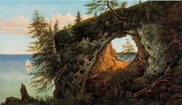 HENRY CHAPMAN FORD (1828-1894) FAIRY ARCH, MACKINAC ISLAND