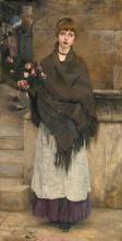JULES BASTIEN-LEPAGE | Marchande de fleurs à Londres