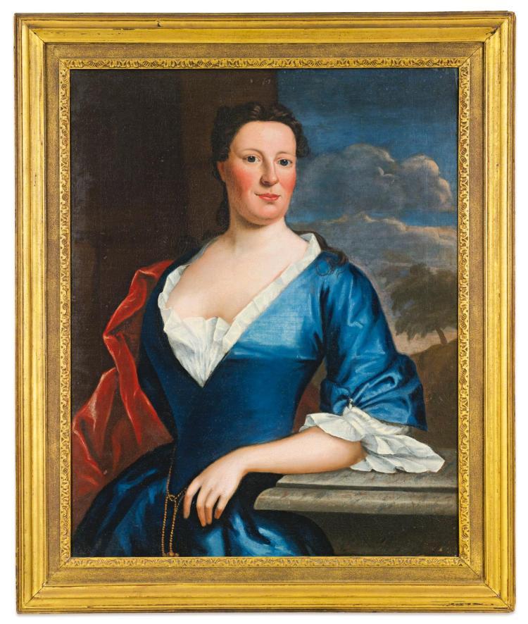 ROBERT FEKE (1707 - 1752) | PORTRAIT OF MRS. TENCH FRANCIS