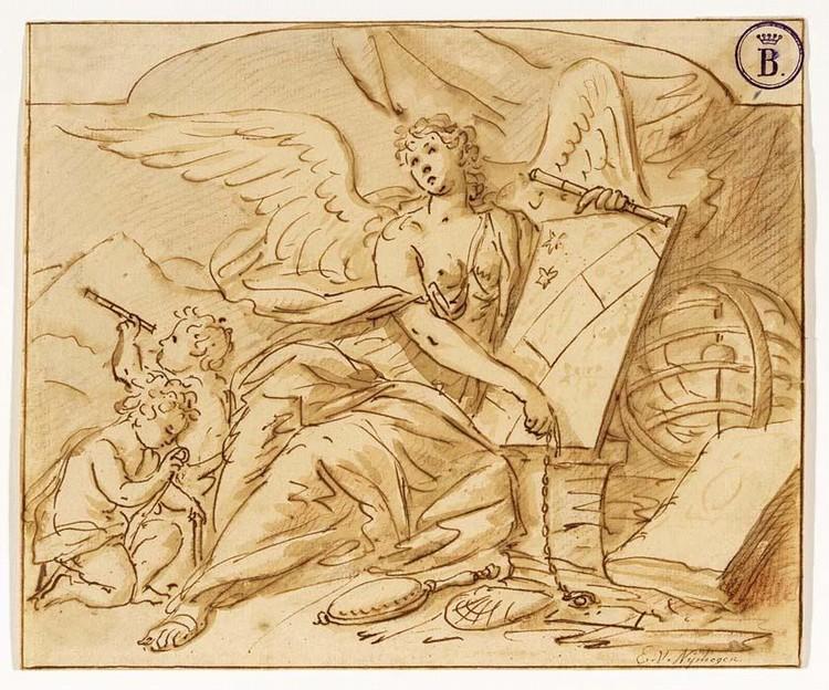 ELIAS VAN NIJMEGEN NIJMEGEN 1667 - 1755 ROTTERDAM