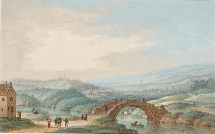 JOHANN JAKOB HOCH MAINZ 1750 - 1829