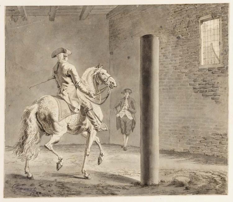 TETHART PHILIPP CHRISTIAN HAAG KASSEL 1737 - 1812 THE HAGUE