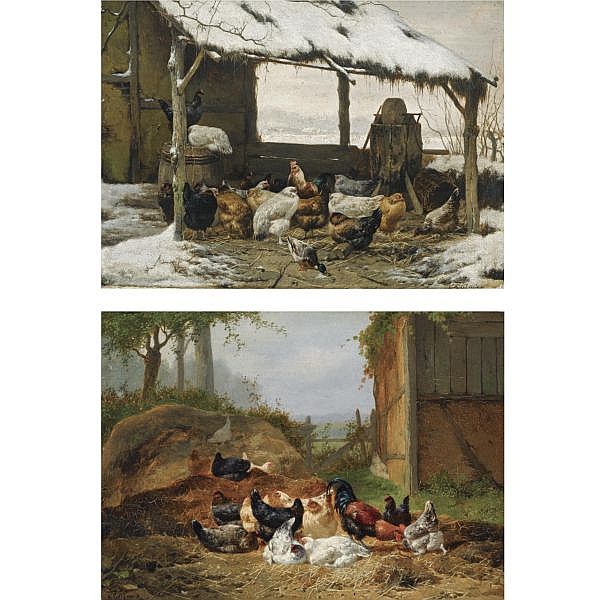 Eugène Rémy Maes , Belgian 1849-1931 